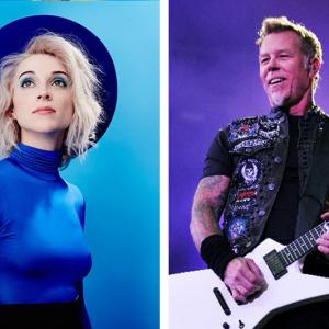 """¡Por si te lo perdiste! Escucha la nueva versión de """"Sad But True"""" de Metallica con St. Vincent"""