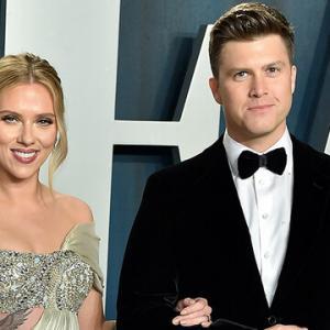 Scarlett Johansson y Colin Jost ya son papás