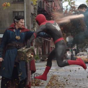 Doctor Strange en Spider Man: No Way Home
